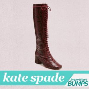 ケイトスペード  ブーツ  シューズ  レディース  レースアップブーツ  レイク  レザー  5.0cm  靴 新作  S5481005|bumps-jp