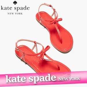 ケイトスペード  サンダル  シューズ  レディース/ウィメンズ  カリアナ  スライドサンダル  リボン  ストライプ  靴 新作 S219011|bumps-jp