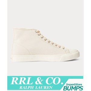 RRL ダブルアールエル  スニーカー  シューズ  メンズ  ノーフォーク  インディゴ  キャンバス  靴 ラルフローレン 新作|bumps-jp