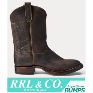 RRL ダブルアールエル  レザーブーツ  シューズ  メンズ  靴 ラルフローレン 新作|bumps-jp