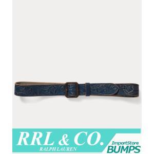 RRL ダブルアールエル  レザーベルト  メンズ  ハンドツールド  ラルフローレン 新作 bumps-jp
