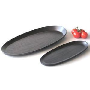 BUNACO/ブナコ トレイ/長さ33センチの細長楕円形 #121 oval(black)|bunaco-select