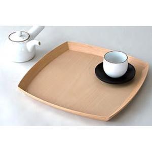 BUNACO/ブナコ 使い勝手の良い角型トレイ  #219 square (natural) 受注製造品|bunaco-select