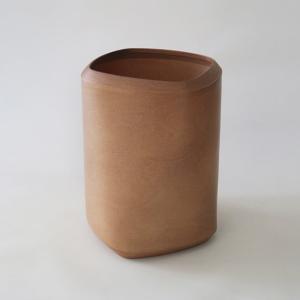 BUNACO/ブナコ ダストボックスTwist3/四角柱をひねった独特フォルム/受注製造品  L d8214(color:rose)|bunaco-select