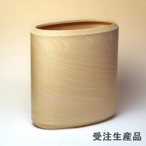 BUNACO/ブナコ ダストボックス/お部屋に可愛らしく収まるオーバルタイプ(natural)|bunaco-select