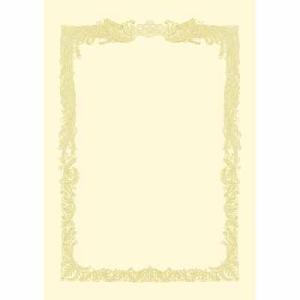 タカ印 賞状用紙 A4 横書 10枚 10-1068|bunbogu-netshopping