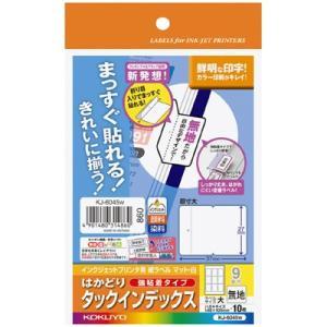 コクヨ IJP用紙インデックス はがき・大・無地 KJ-60...