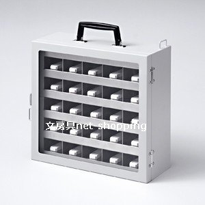サンワサプライ USBメモリ収納保管庫25個収納 RAC-SLUSB25N|bunbogu-netshopping|02