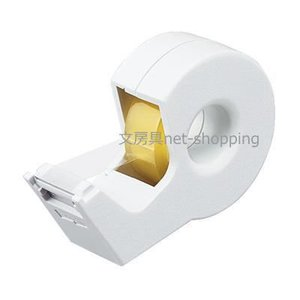 KOKUYO コクヨ テープカッター カルカット ハンディタイプ小巻き 白 T-SM300W|bunbogu-netshopping