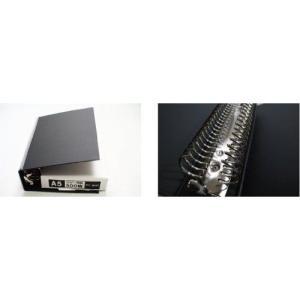 信誠堂テキストバインダー A5サイズ20穴 紺|bunbogu-netshopping|03
