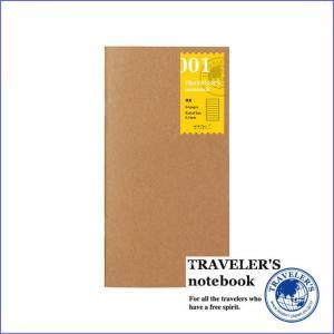 メール便対応可 midori ミドリ TRAVELER'S notebook トラベラーズノート 001 リフィル 横罫 レギュラーサイズ 14245006 bunbouguyasan-honpo