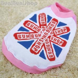 UK FLAG2 犬服ラグランTシャツ|bunbunshop|02