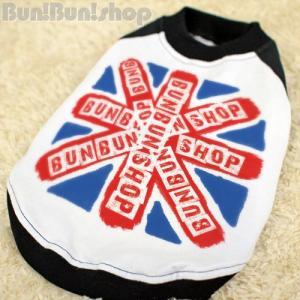 UK FLAG2 犬服ラグランTシャツ|bunbunshop|03