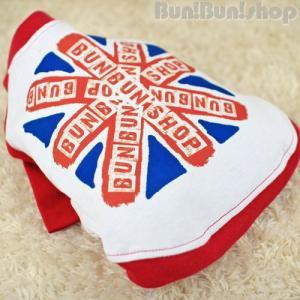 UK FLAG2 犬服ラグランTシャツ|bunbunshop|04