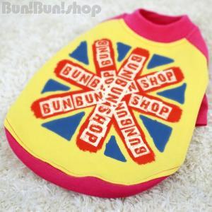 UK FLAG2 犬服ラグランTシャツ|bunbunshop|05