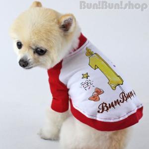 新ナンバー1 犬服ラグランT|bunbunshop