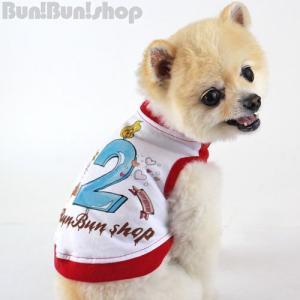 新ナンバー2タンク 犬服タンクトップ|bunbunshop