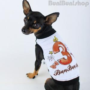 新ナンバー3タンク 犬服タンクトップ|bunbunshop