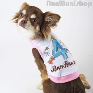 新ナンバー4タンク 犬服タンクトップ|bunbunshop