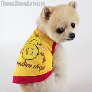 新ナンバー6タンク 犬服タンクトップ|bunbunshop