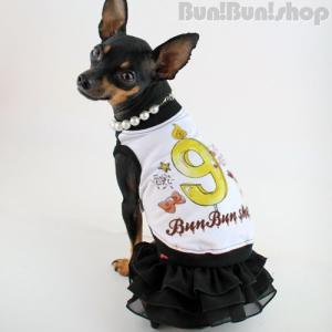 新ナンバー9タンク 犬服タンクトップ|bunbunshop