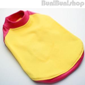 無地ラグランTシャツ 小型犬用|bunbunshop