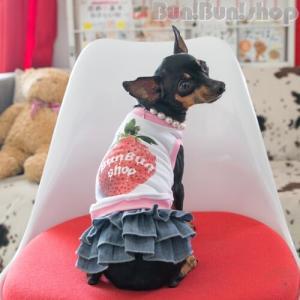 デニムスカート 小型犬用|bunbunshop|02