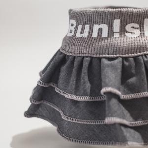 【グレー色】デニムスカート 小型犬用 bunbunshop 02