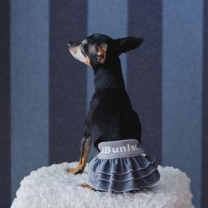 【グレー色】デニムスカート 小型犬用 bunbunshop 07