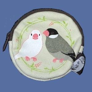 【トーシンパック】pi: コインケース NEW(文鳥)|bunchoya