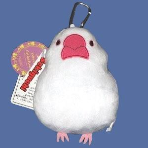 【セキグチ】パスケース(白文鳥)|bunchoya