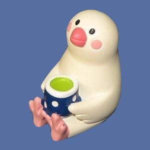 【DECOLE】日本茶文鳥|bunchoya