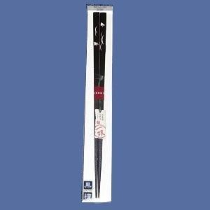 【イシダ】お箸一双 貝象嵌 野分千鳥 23cm|bunchoya