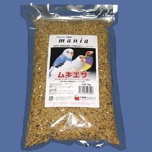 【黒瀬】maniaムキエサ 1kg|bunchoya