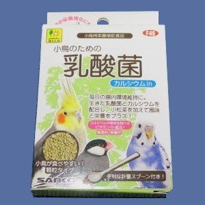 【SANKO】小鳥のための乳酸菌 カルシウムin 20g|bunchoya