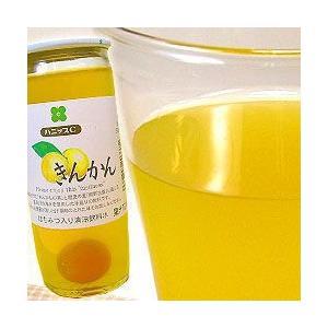 国産州 ハニップCきんかん(200g×15本入)(送料無料) レモン果汁とハチミツ入りのさわやかドリンク! (fy4) bundara