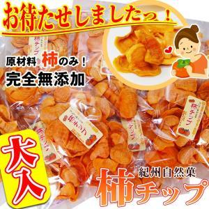 無添加 柿チップ 300g 紀州自然菓 柿チップ 特別大袋(...