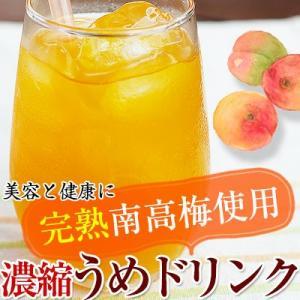 完熟梅ジュース(紀州南高梅使用)500ml  香り高く濃厚なコクのある梅ドリンク。冷水、ソーダ、お酒で割っても美味しい! (fy3) bundara