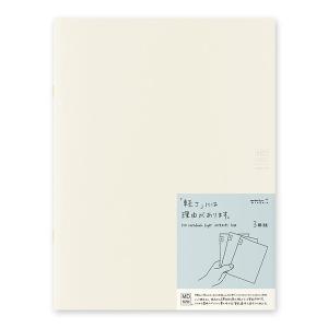 MIDORI ミドリ MDノートライト・A4変形判 (方眼罫) 3冊組