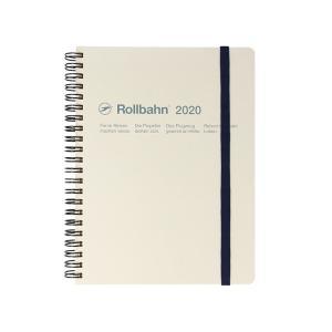 Delfonics デルフォニックス 2020年 ロルバーンダイアリーA5 (ホワイト)