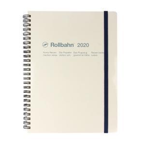 Delfonics デルフォニックス 2020年 ロルバーンダイアリーXL (ホワイト)