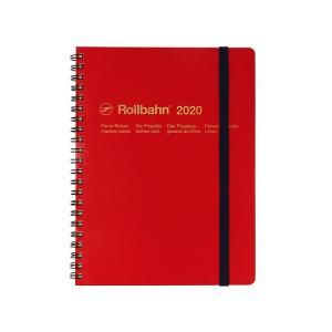 ロルバーン ダイアリー 手帳 2020年 ライト A5 レッド デルフォニックス [01] 〔メール便 送料無料〕の商品画像|ナビ