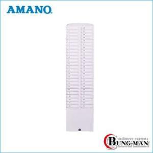 アマノ カードラック 白 50S-W|bung-man