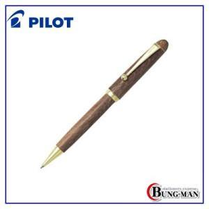 パイロット 油性ボールペン カスタム カエデ キャップスライド式 BK-1000K-M モクメ|bung-man