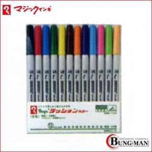 寺西化学 ラッションカラー 12色セット M800C-12|bung-man