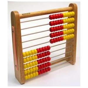 トモエそろばん アバカス100 (ABA100C) 児童用100玉そろばん【算盤】|bungle