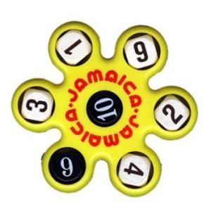 トモエそろばん ジャマイカ 黄 (JAMAY) 黒いサイコロの数字の合計を5つの白いサイコロの数字でつくる計算ゲーム【算盤】|bungle