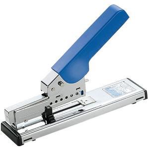 プラス/ホッチキス 強力タイプ(ST-003E・30-998)ブルー 針装填量100本 とじ枚数PPC用紙約2〜70枚 廃棄時は材質ごとに簡単に分別/PLUS|bungle
