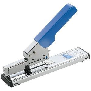 プラス/ホッチキス 強力タイプ(ST-050E・30-999)ブルー 針装填量100本 とじ枚数PPC用紙約2〜130枚 廃棄時は材質ごとに簡単に分別/PLUS|bungle