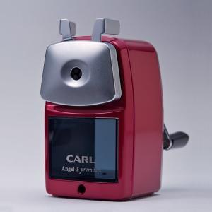 CARL/手動鉛筆削り エンゼル5 プレミアム(A5PR)丈夫な板金製のボディと飽きのこないデザイン♪カール事務機【手動鉛筆削器】|bungle|03